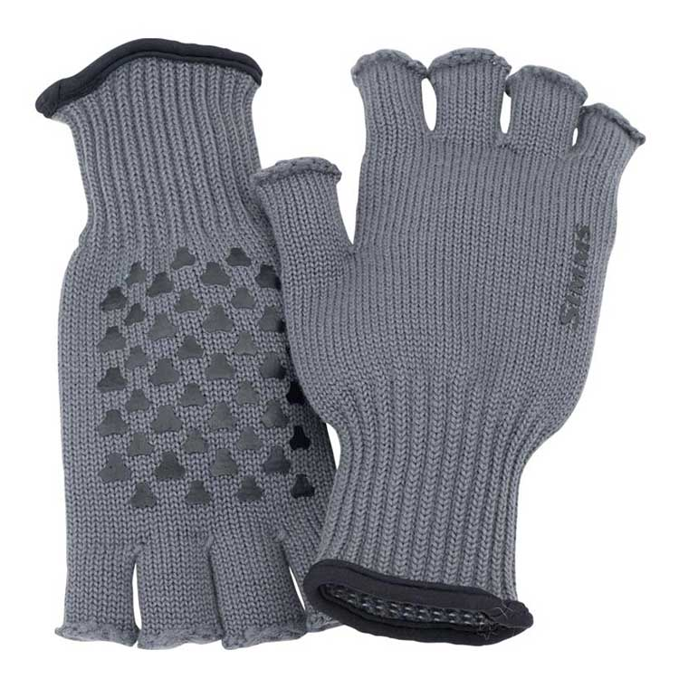 Wool Half Finger Glove