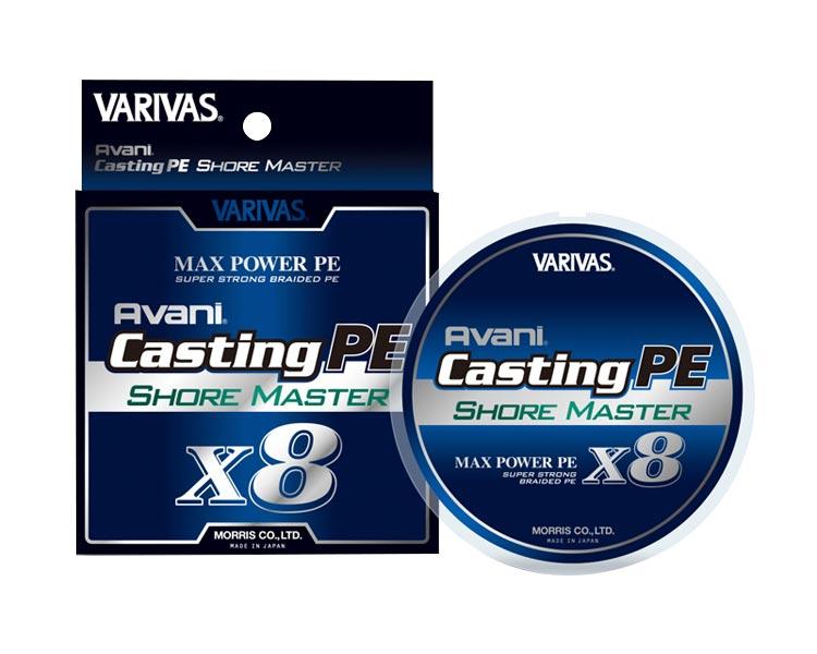 アバニ キャスティングPE マックスパワー X8 ショアマスター 号数 : 0.6号