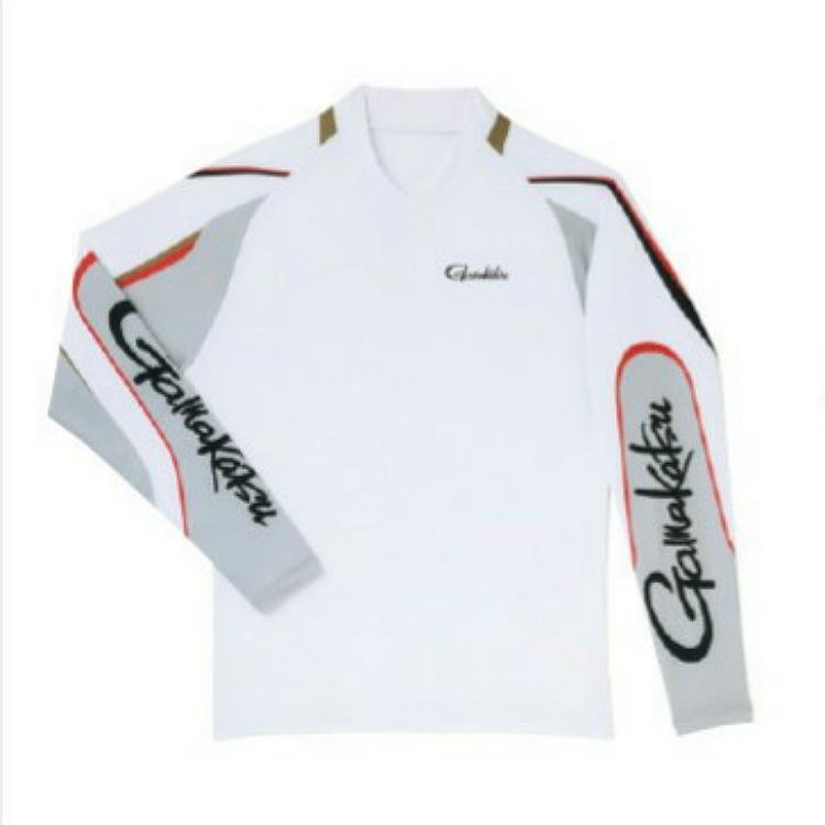 がまかつストレッチロングスリーブシャツ GM-3542 ホワイトL