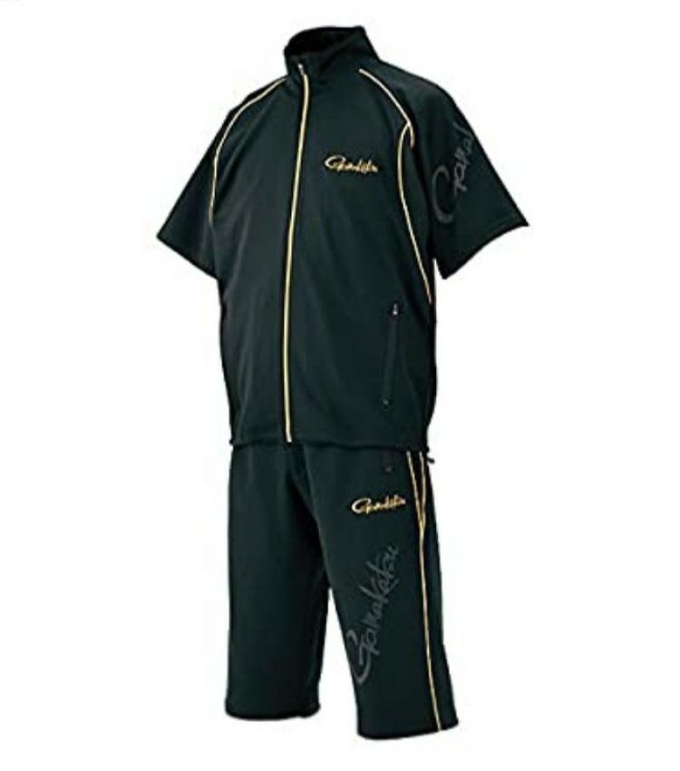 GM-3470 ジャージスーツ(半袖) ブラック L