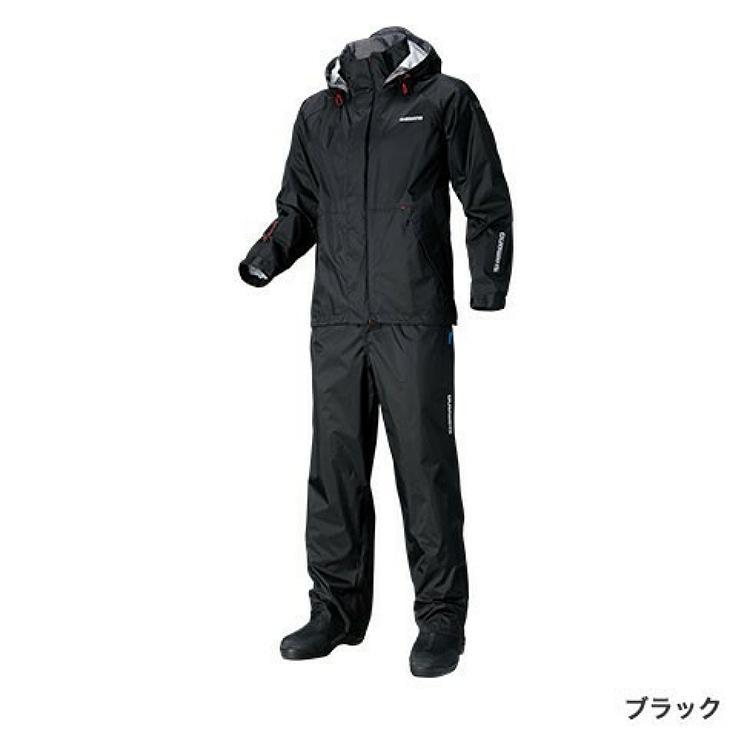 シマノDSベーシックスーツ RA-027Q ブラック L