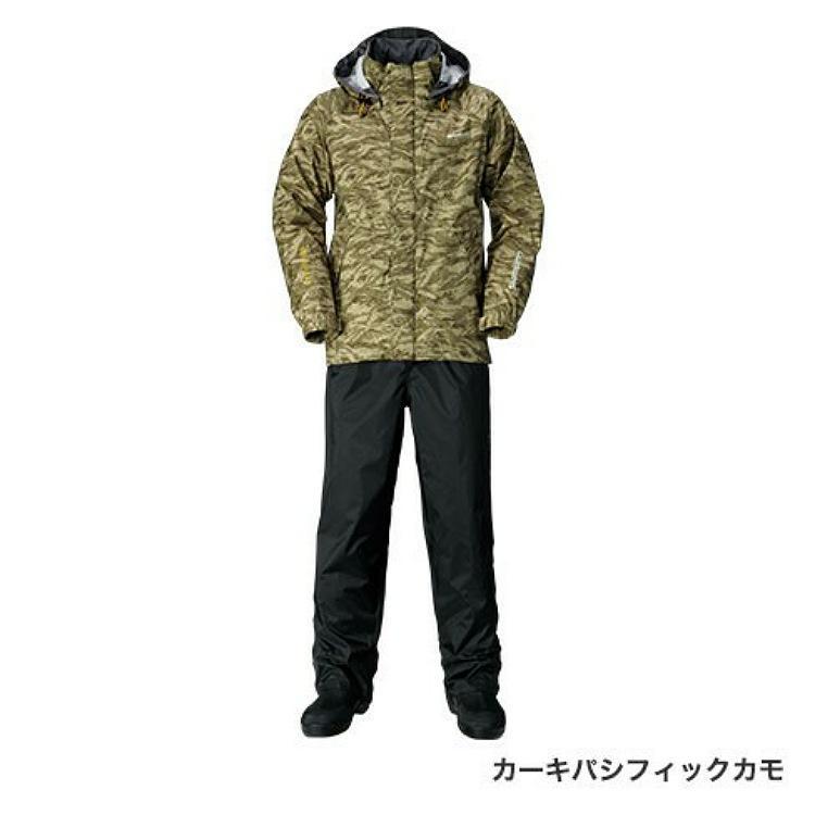 DSベーシックスーツ RA-027Q カーキパシフィックカモ2XL