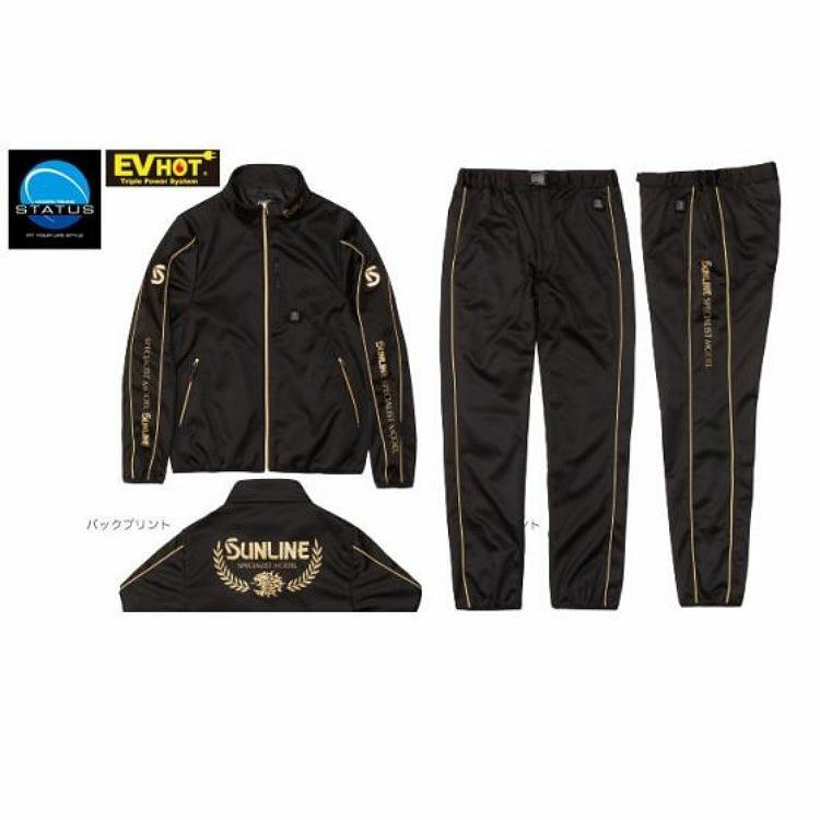 サンラインEV HOTヒータースーツ ブラック LL